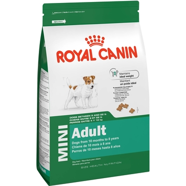 Royal Canin Mini Adult Dog Food, 14 lb. Bag