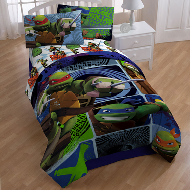 Nickelodeon Teenage Mutant Ninja Turtles Twin Comforter