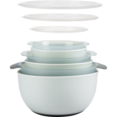 OXO Good Grips 9 pc. Nesting Bowl and Colander Set