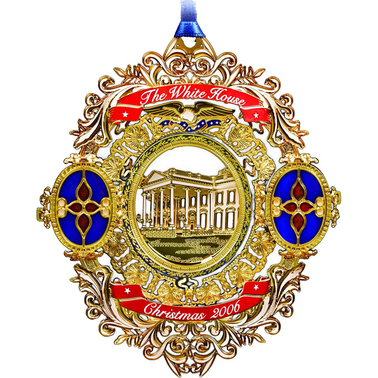 ChemArt 2006 White House Christmas Ornament