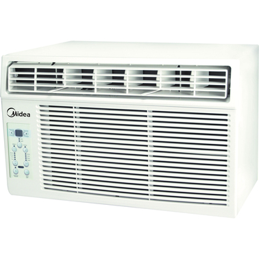 Midea 8 000 btu window air conditioner window air for 12 x 19 window air conditioner