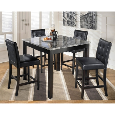 Signature Design by Ashley Maysville 5 Pc. Square Counter Height Dining Set