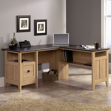 Sauder August Hill L Shaped Desk Desks Home