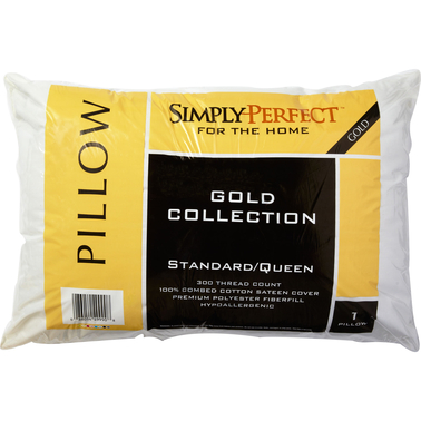Simply Perfect Gold Collection Standard/Queen Pillow