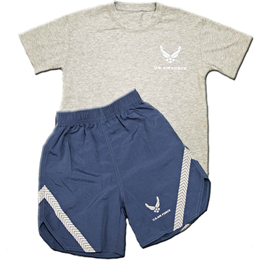 Trooper Clothing Little Boys/Boys Air Force PT Set