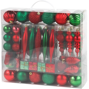 Holiday Sparkle Ornament 88 pc. Set