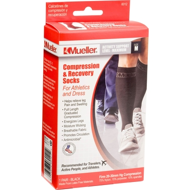 Mueller Compression and Recovery Socks