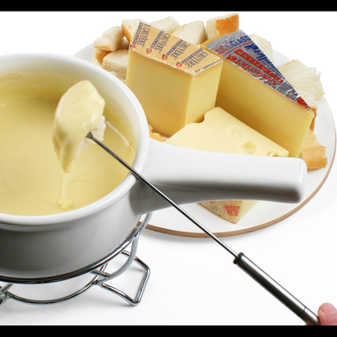 The Gourmet Market Set of Fondue Cheeses
