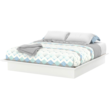 South Shore Majestic King Platform Bed with Moldings