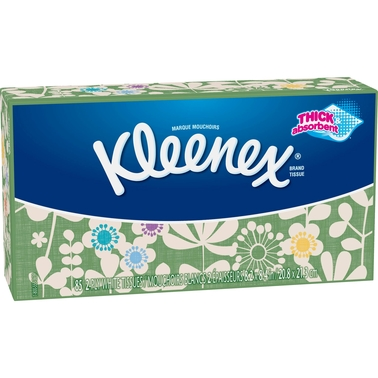 Kleenex Facial Tissue White 85 Ct.