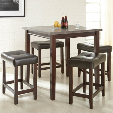 Steve Silver Aberdeen 5 pc. Counter Height Dining Set