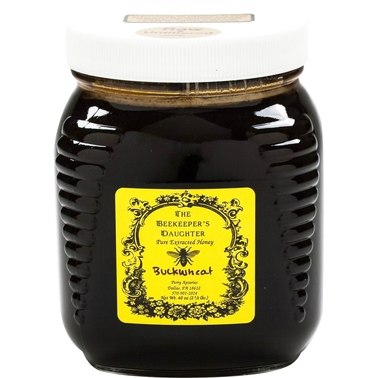 The Gourmet Market Raw Buckwheat Honey by the Beekeeper's Daughter