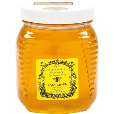 The Gourmet Market Raw Wildflower Honey by the Beekeeper's Daughter