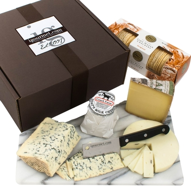 The Gourmet Market Platinum Collection of Cheeses Gift Box