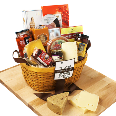 The Gourmet Market International Premier Gift Basket