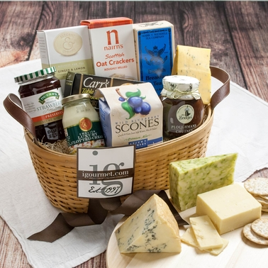 The Gourmet Market British Premier Gift Basket