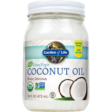 Garden Of Life Coconut Oil, 16 oz.