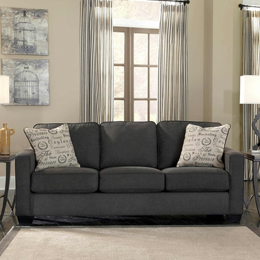 Signature Design By Ashley Alenya Sofa, Charcoal