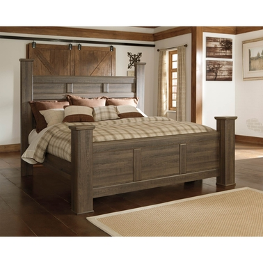 Signature Design by Ashley Juararo King Poster Bed