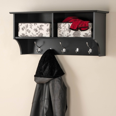 Prepac 36 In. Hanging Entryway Shelf