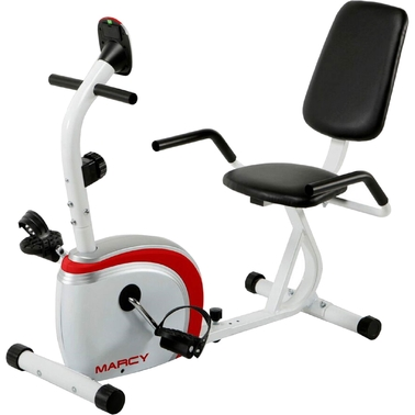Marcy Recumbent Magnetic Resistance Exercise Bike, NS 908R