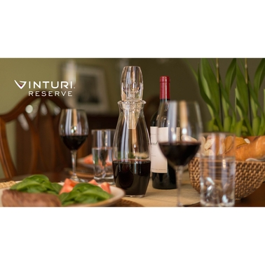 Vinturi Reserve Essential Red Wine Aerator and Carafe