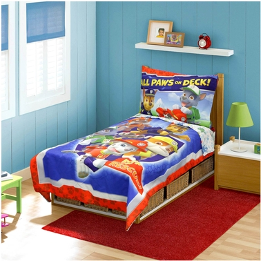 PAW Patrol Ruff Ruff Rescue 4 pc.Toddler Bedding Set