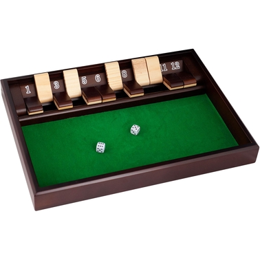 Trademark Games SHUT THE BOX Game