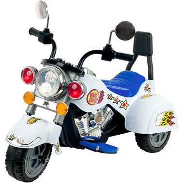 Lil' Rider White Knight Motorcycle