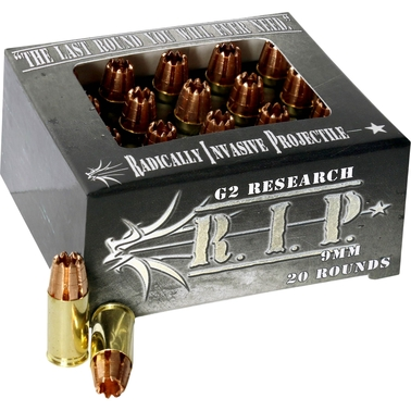 G2 RIP .40 S&W 115 Gr. Lead Free Copper, 20 Rounds