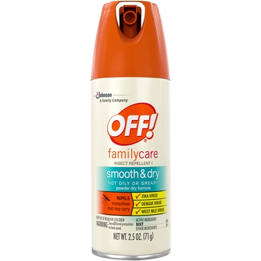 OFF! Smooth and Dry Family Care Insect Repellent, 2.5 Oz.