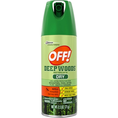 OFF! Deep Woods Dry Insect Repellent V111