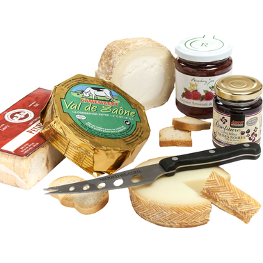 The Gourmet Market French Cheese and Jam Collection