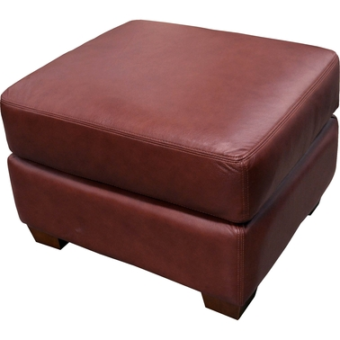 Omnia Leather Albany Ottoman