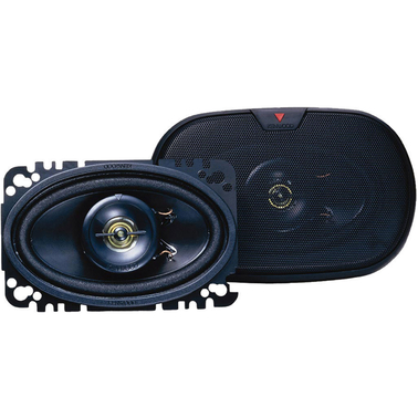 Kenwood 4x6 2 Way Speaker System