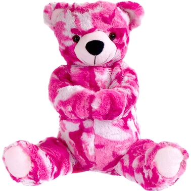 Bear Forces of America 11 in. Bear Pink Camo