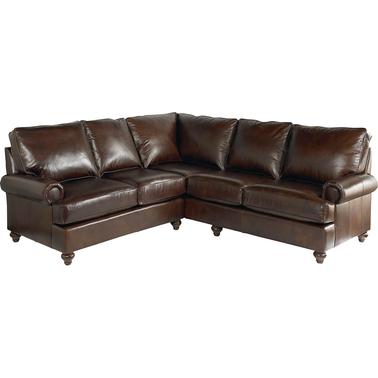 Bassett montague small sectional sofa sofas couches for Small sectional sofa bassett