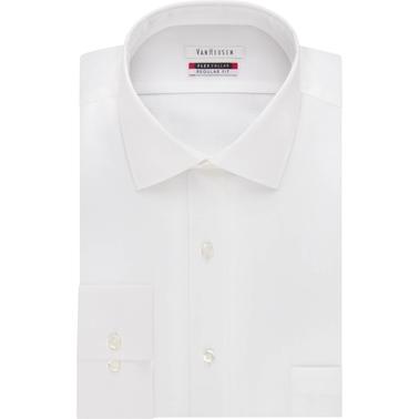 Van heusen flex collar dress shirt dress shirts for Van heusen shirts flex collar
