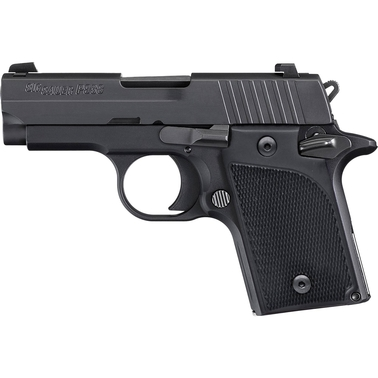 Sig Sauer P938 9mm 3 in. Barrel 6 Rnd NS Pistol Black