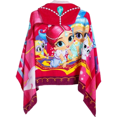 Character Hooded Towel Wrap