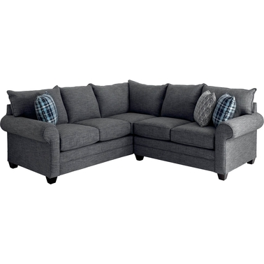 Bassett Alex 2 Pc. Sectional | Sofas & Couches | Home & Appliances ...