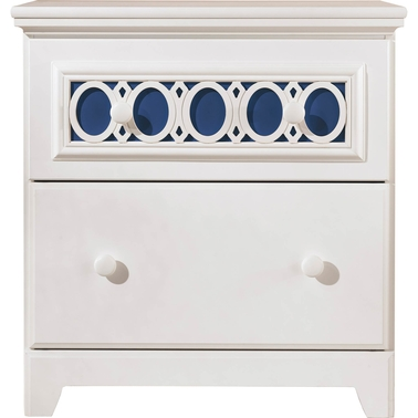 Ashley Zayley 2-Drawer Nightstand