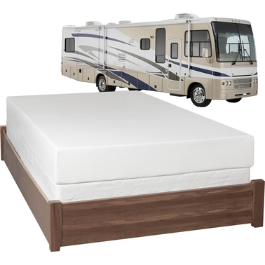 Eclipse Health-O-Pedic 8 in. Memory Foam RV Mattress
