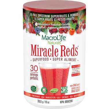 MacroLife Naturals Miracle Red Superfood