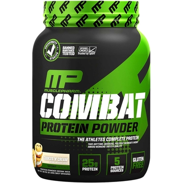 MusclePharm Combat Powder Cookies And Cream, 2 lb.