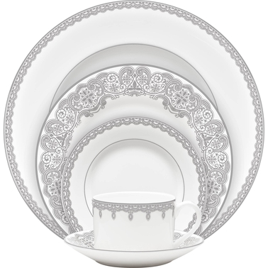 Waterford Lismore Lace Platinum 5 pc. Place Setting