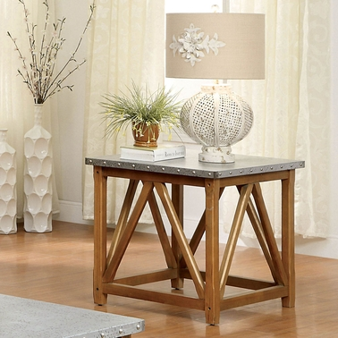 Furniture of America Armous II End Table