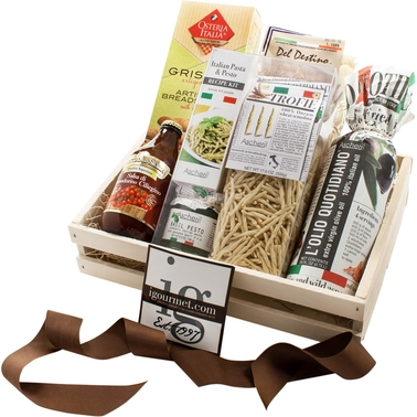 The Gourmet Market Authentic Italian Pasta Gift Crate