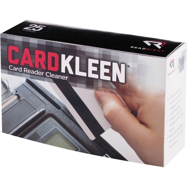 Read Right CardKleen Pre-Saturated Magnetic Head Cleaning Cards, 25 pk.