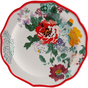 Pioneer Woman Country Garden 8.5 in. Salad Plate, Multi